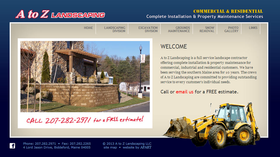 A to Z Landscaping LLC