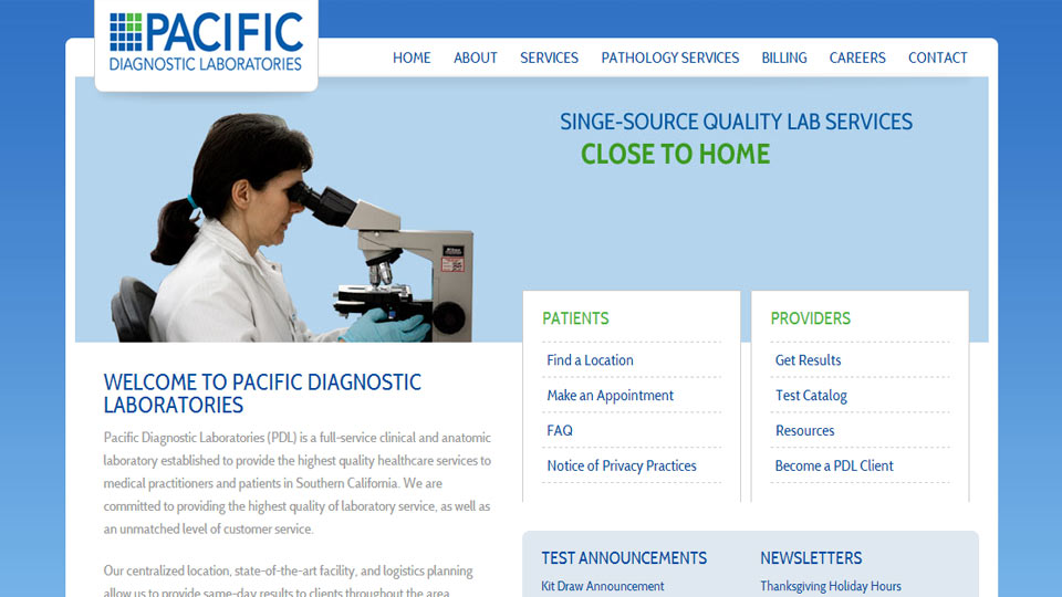 Pacific Diagnostics Laboratories